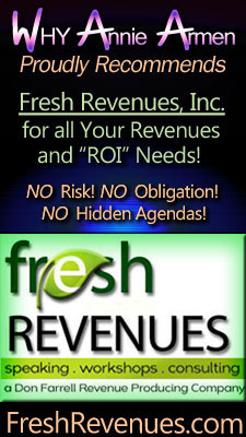 Why Annie Armen Recommends Fresh Revenues, Inc.
