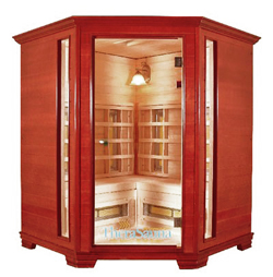 Far Infrared Sauna - Corner Unit
